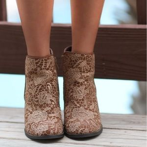 Ophelia Women's Ankle Lace Booties